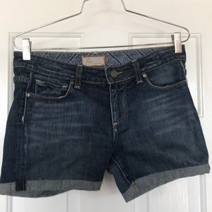 Paige jean shorts size 28 laurel